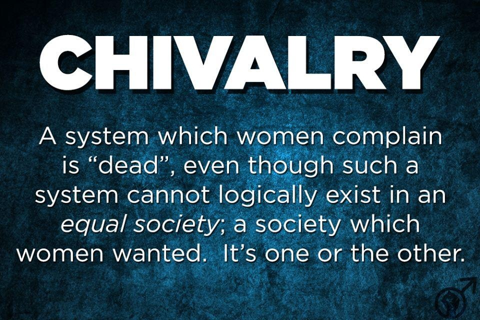 when did chivalry die